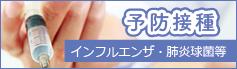 予防接種/インフルエンザ・肺炎球菌等